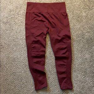 Leggings- maroon